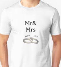 44th anniversary matching mr ath mrs since 1973 uni t shirt