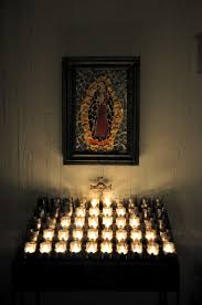 alter lighting. Our Lady Of Guadalupe Alter W/ Candles Lighting O