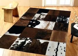natural hide rug white natural cowhide rug