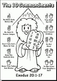 Free Printable Ten Commandments Coloring Pages New Photos Coloring
