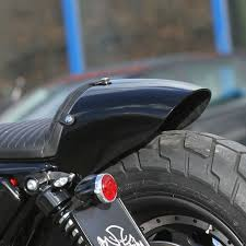 rear fender kit caf racer for sportster 04 later at thunderbike shop