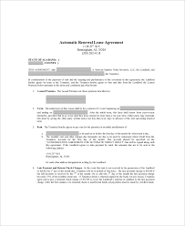 Lease Renewal Letter Simple 44 Lease Renewal Templates Free Sample Example Format Free