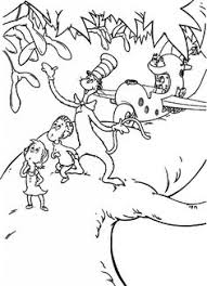 Small Picture Cat in the Hat Coloring Page Movies and TV Show Coloring Pages
