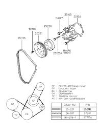 1997 hyundai tiburon coolant pump (beta engine) 1997 Hyundai Elantra Engine Diagram 1997 Hyundai Tiburon Engine Diagram #25