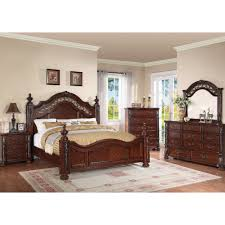 Charleston Bedroom Bed Dresser & Mirror Queen