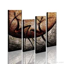 rbvaevmcdq aseqfaaibdxpcyhg573 jpg on 4 piece wall artwork with 2018 modern artwork abstract painting wall art decor happy dancing