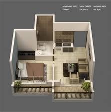 Bedroom  Single Room Interior Design Single Room Apartment Dcor - Tiny studio apartment layout