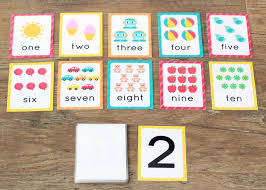 Flash cards are an excellent tool to encourage memory retention. Creative Ways To Learn With Number Flashcards The Many Little Joys