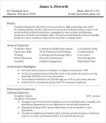 Production Manager Resumes 10 Printable Product Manager Resume Templates Pdf Doc