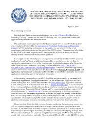 Psychology Internship Cover Letter Samples Psychology Internship Cover Letter Sample Samples Yun56co