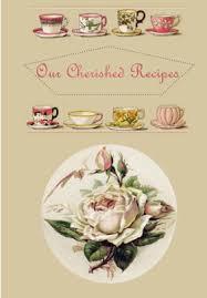 Recipe Journals Recipe Journal Our Cherished Recipes Blank Recipe Book Paperback