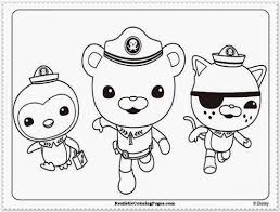 Small Picture Octonauts Coloring Pages Coloring Pages 5667 Bestofcoloringcom