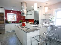 High Gloss Kitchen Cabinets Luxurious Cheery Kitchen Cabinets Kitchen Ideas Design Porter