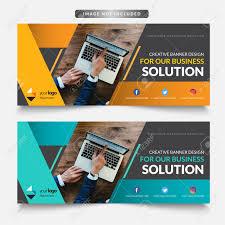 Desain Banner Business Web Banner Design Banner Design Template
