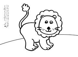 Coloriages Lion Les Animaux Page 2