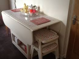 best white drop leaf table drop leaf storage table do it yourself home projects from ana white