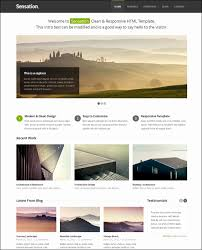 Website Html Templates Classy 28 Great Responsive HTML Website Templates