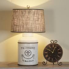 French Canisters Kitchen French Canister Table Lamp 3 Colors Bedrooms Pinterest