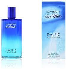 <b>Davidoff Cool Water Pacific</b> Summer Eau De Toilette 125ml ...