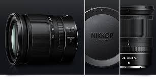 nikkor z 24 70mm f 4 s nikkor lenses