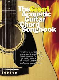 Some notes can be expressed as either sharp or flat (enharmonic spelling), the notes sound just the same but the naming of them is decided by which key the song is in. The Great Acoustic Guitar Chord Songbook Guitar Chords And Lyrics Musicroom Com