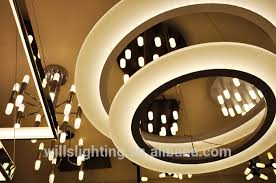 fabulous fancy led ceiling lights luxurious fashion style fancy circle acrylic led ceiling lights