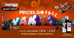 Konga Yakata Black Friday