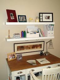 cheap office shelving. Ikea Desk Shelf Exciting Floating Shelves With Cozy Wood And Swing Arm Lamp For Office Room Wall Expedit Cheap Shelving O