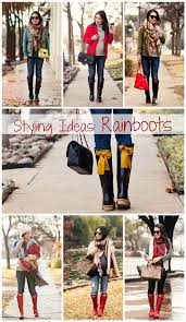 styling ideas styling outfit ideas inspiration rainboots joules evedon wellies hunte