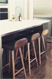 sede black leather walnut bar stool
