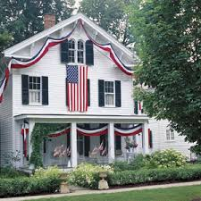 creating a patriotic home for a happy 4th of july