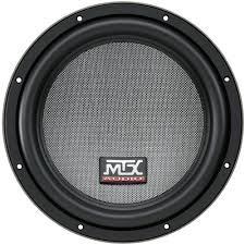 t812 44 mtx 12 inch car subwoofer mtx audio serious about sound� MTX 12 Ohm picture of t8000 series t812 44 12 inch 500w rms dual 4 ohm subwoofer