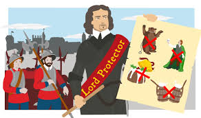 bbc bitesize ks history oliver cromwell revision  oliver cromwell as lord protector