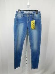 Details About Vanilla Star Super Soft Skinny Jeans Size 9 Light Wash 4926