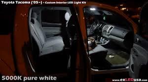 exLED Toyota Tacoma Custom LED Interior Kit - YouTube
