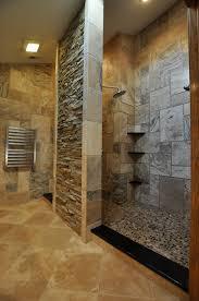 Unique Bathroom Tiles Project Design A Bathroom Shower With A Natural Stone Tile Shower