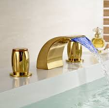 bathroom basin faucet led color