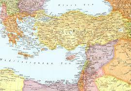 eastern mediterranean sea map ile ilgili görsel sonucu