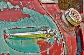vintage car door handles. Door Handle And Gas Tank Of An Old Vintage Truck. Stock Photo - 36899456 Car Handles