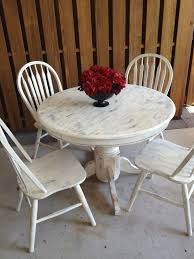 Shabby Chic Small Round Kitchen Table Kitchen Tables Sets