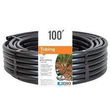 x 100 ft poly drip tubing b36
