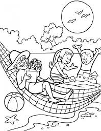 Small Picture Holiday Preschool Coloring Pages Summer Fun Season Coloring