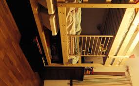 mydal bunk bed added height shelf and malm drawers