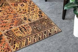 vintage beige and brown handmade wool area rug rugs 5x7 furniture s in houston