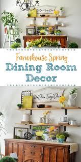 spring dining room decor spring ideas