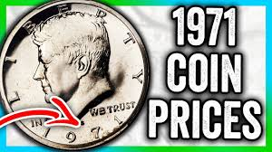 1971 Half Dollar Coin Values Kennedy Coins To Look For That Are Rare