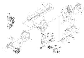 karcher k4 gb (1 180 151 0) pressure washer housing spare parts
