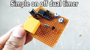 Dual Light Timer Simple 230v Dual Timer On Off Switch For Fan Light Mobile Charger Diy