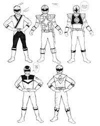 Disegni Da Colorare Power Ranger Super Samurai Migliori Pagine Da