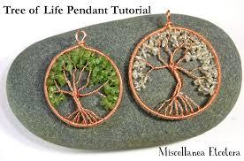 jewelry tutorial tree of life pendant